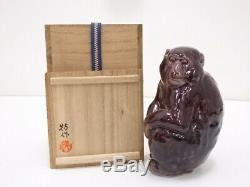4615305 Japanese Porcelain Kutani Ware Monkey Figurine By Yasokichi Tokuda & Yu