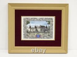 5136571 Jean Gradassi / Framed Painting On Porcelain / Decors De Paris