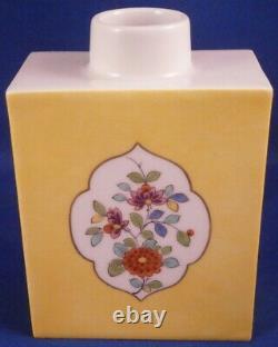 Amazing Meissen Porcelain Kakiemon Design Lidded Tea Caddy Jar Porzellan Teedose
