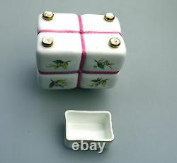 An antique Minton novelty Tea Caddy attributed to Christopher Dresser C. 19thC