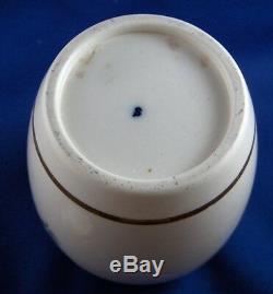Antique 18thC Caughley Porcelain Salopian Tea Caddy Jar English England Teedose