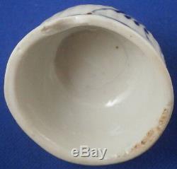 Antique 18thC Wallendorf Porcelain Strawflower Tea Caddy / Jar Porzellan Teedose
