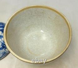 Antique Chinese Blue and White Porcelain tea caddies Kangxi -qianlong china