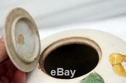 Antique Chinese Porcelain Jar Vase Tea Caddie Boy with Spider Kangxi era