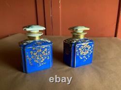 Antique porcelain Sevres style tea caddies