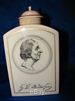 B&G Hans Christian Andersen Copenhagen #'d Tea Caddy