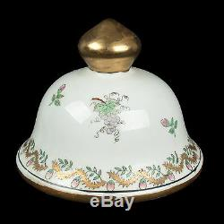 China 20. Jh. Wappen Teedose A Chinese Porcelain Armorial Tea Caddy Chinois