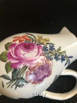 Chinese Export Porcelain Covered Milk Jug Antique