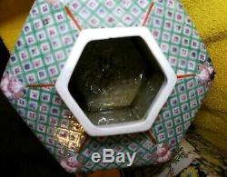 Pair of antique chinese porcelain Tea caddies 12