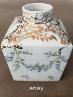Rare Antique German Tea Caddy decorated by Franziska Hirsh studio
