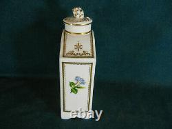 Spode Stafford Flowers Bone China F1661 Large Tea Caddy with Lid