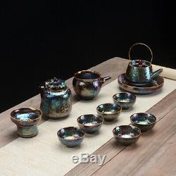 12pcs À Thé Pour Le Thé Noir Kiln Changement Boîte À Thé De Filtre À Thé Tasse De Thé Lanceur De Pot