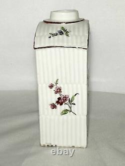 18ème C Rauenstein Porcelain Tea Caddy