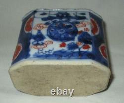 18ème Siècle Chine Export Porcelaine Thé Caddy