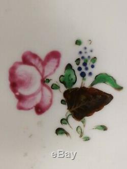 18ème Siècle Originale Qianlong Chinese Export Porcelain Tea Caddy