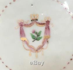 18ème Siècle Originale Qianlong Chinese Export Porcelain Tea Caddy Circa 1780