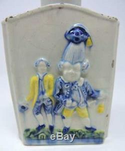 18ème Siècle Pratt Soft Ware Pâte Porcelaine Figural Tea Caddy, C. 1790