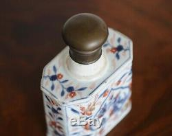 18ème Siècle Qianlong Chinois Imari Décorée Tea Caddy, 1720-1740