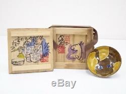 4836582 Clifton Karhu / Porcelaine Sake Cup Lapin Etui En Bois