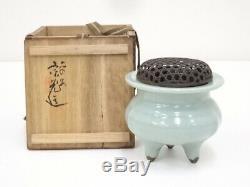 4857894 Porcelaine Japonaise Céladon Incense / Artisan Travail