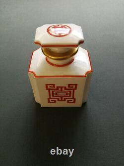 À Thé En Porcelaine Antique Kpm Caddie / Pot, 19thc