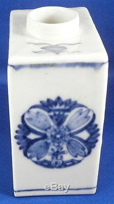 Antique 18thc Meissen À Thé En Porcelaine Caddy / Pot Porzellan Teedose Design Asiatique