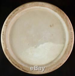 Antique Chinois Famille Rose Porcelaine Lidded Tea Pot Caddy Qing Dynasty 1 De 2