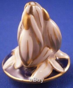 Antique Kpm Berlin Scenic Egg À Thé En Porcelaine Caddy Pot Porzellan Vase Teedose