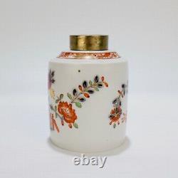 Antique Meissen Porcelaine Tischchen Muster Tea Caddy 18c 19 C Teedose Pc