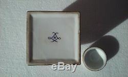 Antique Porcelaine Peinte À La Main Gilded Tea Caddy Français Sevres Style Pot De Gingembre