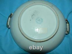 Antique Vintage Royal Hinode Nippon Porcelain Bowl Handle Handpainted Gold Guilt