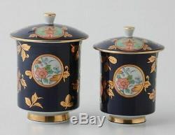 Arita Porcelaine Komari Marisai Assembling Coupe Avec Couvercle K33-11510 Gift Set Thé