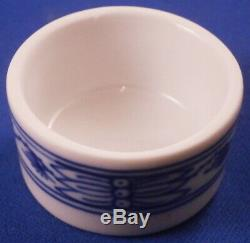 Belle Porcelaine De Meissen Blue Onion Tea Caddy Pot Porzellan Zwiebelmuster Teedose
