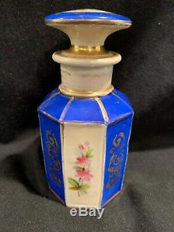 Boîte À Thé En Porcelaine Antique Française