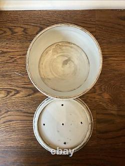 Caddie Antique De Thé Chinois De Porcelaine