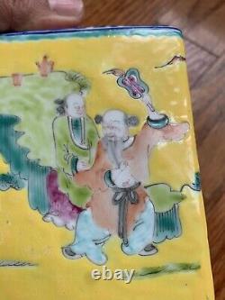 Caddy De Thé De Porcelaine Chinoise Antique