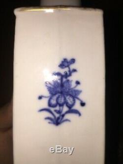 Excellent État Fin Du 18ème Siècle Chinoise À Thé En Porcelaine Caddy Qianlong Bleu