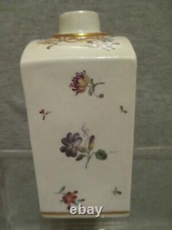 Frankenthal Porcelaine, Porzellan Teedose Scenic Tea Caddy, 1770