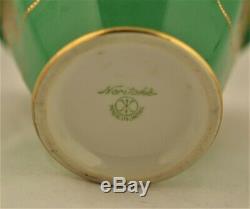 Japon, Le Thé En Porcelaine Dorée Antique Caddie Par Noritake