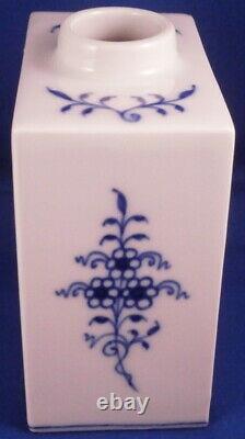 Nice Meissen Porcelain Blue Onion Tea Caddy Jar Porzellan Zwiebelmuster Teedose