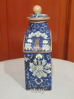 Porcelaine À Thé Vintage Caddy