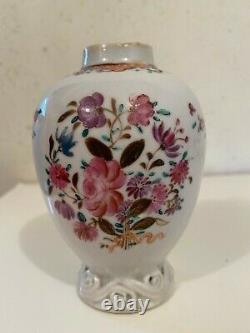 Porcelaine Antique D'exportation Chinoise De Caddie De Thé Du 18ème Siècle