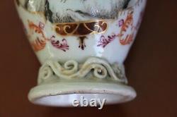 Porcelaine Antique D'exportation Chinoise De Caddie De Thé Du 18ème Siècle, Qianlong
