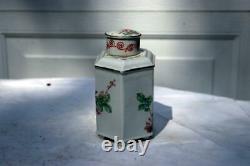 Porcelaine Chinoise Antique Thé Caddy République Era