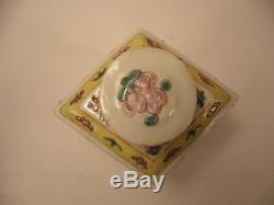 Porcelaine Chinoise Thé Caddy 20 C