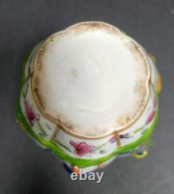 Rare Antique Chinese Export Style Fine Porcelaine Thé Caddy