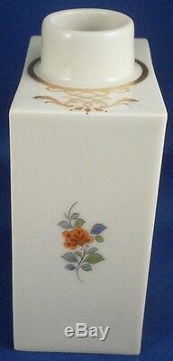 Superbe Porcelaine De Meissen Kakiemon Design Lidded Tea Caddy Pot Porzellan Teedose